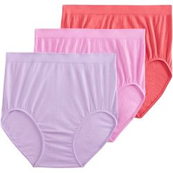 3-pk.Seamfree Breathe Brief Panties 1681