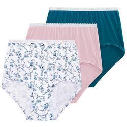 3-pk. Classic Brief  Panties 9482