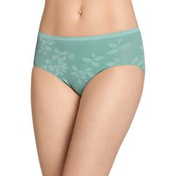 Jockey Eco-Comfort Floral Hi Cut Brief Panties 2619