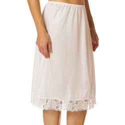 Heavenly Secrets Lace Trim Half Slip 8024