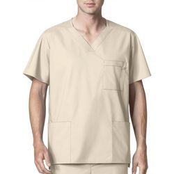 WonderWink Mens WonderWORK V-Neck Scrub Top
