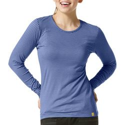 Womens Striped Long Sleeve Top