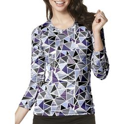 WonderWink Womens Looking Glass Scrub Top