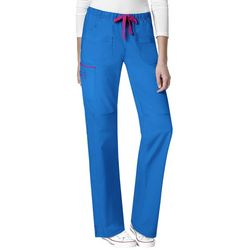 WonderWink Womens Joy Denim Style Scrub Pants