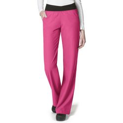 WonderWink Womens Easy Fit No Roll Scrub Pants