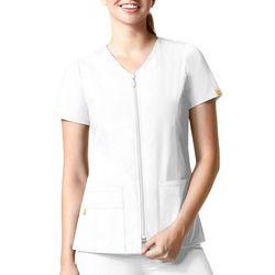 WonderWink Womens Origins Kilo Zip Front Jacket