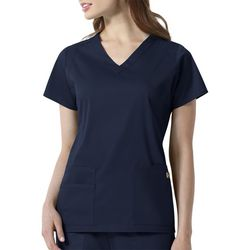 WonderWink Womens Charlotte V-Neck Scrub Top
