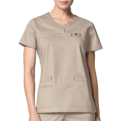 WonderWink Plus WonderFlex Patience Scrub Top