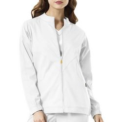 WonderWink Womens Boston Warm-Up Scrub Jacket
