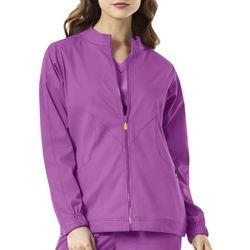 Womens Boston Warm-Up Scrub Jacket
