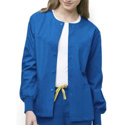 WonderWink Womens Origins Delta Scrub Jacket