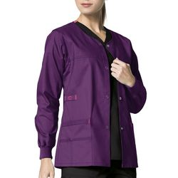 WonderWink Womens WonderFlex Scrub Jacket