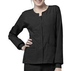 WonderWink Womens 4 Stretch Snap Scrub Jacket