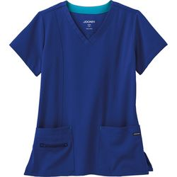 Jockey Plus Modern V-Neck Scrub Top