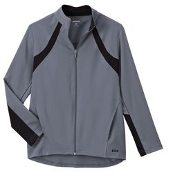 Jockey Womens Athletic Contrast Scrub Jacket