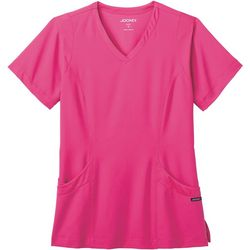 Jockey Womens Modern Mesh Scrub Top