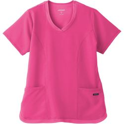 Jockey Womens Cool Mesh Shirttail Top