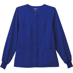 Jockey Plus Classic Snap Front Scrub Jacket