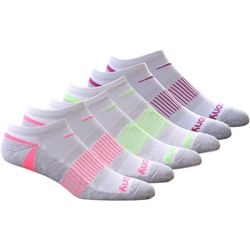 Saucony Womens Accent 6-Pack Socks