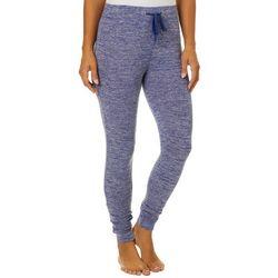 Jaclyn Intimates Womens Hacci Print Jogger Pajama Pants