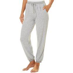 Piper & Taylor Womens Heathered Jogger Pajama Pants