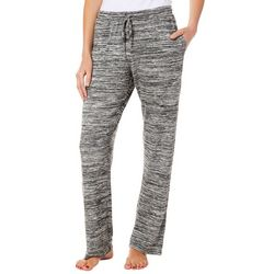 Piper & Taylor Womens Space Dye Straight Leg Pajama Pants