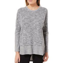 Piper & Taylor Womens Heathered Lounge Pajama Top