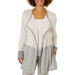 Piper & Taylor Womens Colorblock Lounge Wrap