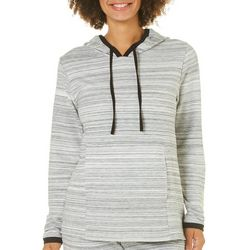 Piper & Taylor Womens Striped Lounge Hoodie