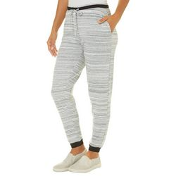 Piper & Taylor Womens Striped Long Jogger Pajama Pants