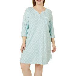 Karen Neuburger Plus Lakehouse Pocket Nightgown