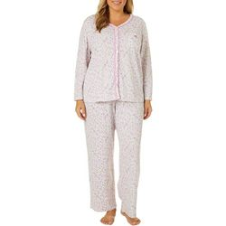 Karen Neuburger Women Wishing Well Cardigan Pajama Pants