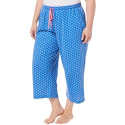 Karen Neuburger Plus Medallion Capri Pajama Pants