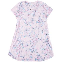 Karen Neuburger Plus Monets Garden Floral Nightgown