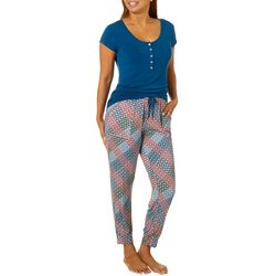 Echo Plus Medallion Print Jogger Pajama Pants Set