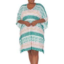 Ellen Tracy Plus Tie-Die Nightgown