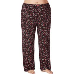Ellen Tracy Plus Ditsy Floral Pajama Pants