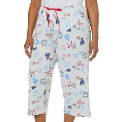 Hue Plus Sail Away Capri Pajama Pants