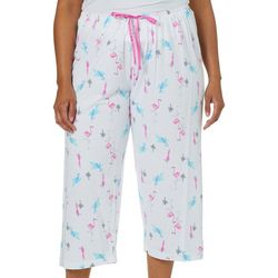 Hue Plus Bird of Paradise Capri Pajama Pants