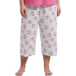Hue Plus Flamingle Capri Pajama Pants