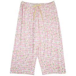 Hue Womens Pineapple Pajama Bermuda Shorts