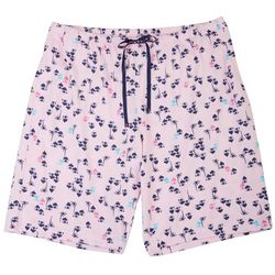 Hue Womens Tiki Hut Print Pajama Boxer Shorts
