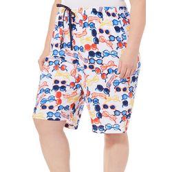 Hue Plus Hot Shades Pajama Bermuda Shorts