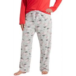 Hue Plus Survival Juice Print Long Pajama Pants
