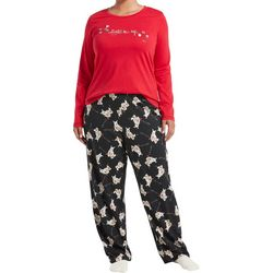 Hue Plus Light Me Up Folded Pajama Set