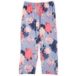 Plus Garden Shadows Print Pajama Pants