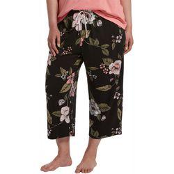 Hue Plus Camilia Print Capri Pajama Pants