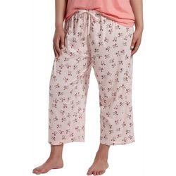 Hue Plus Fly Away Birds Capri Pajama Pants