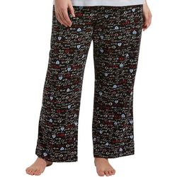 Hue Plus Unlock Love Long Pajama Pants