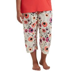Hue Plus Magical Floral Pajama Capris